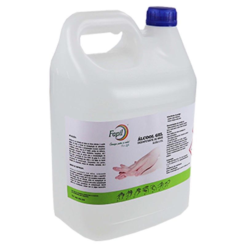 Álcool gel 5lt Fapil